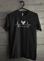 Chicken Coop Heartbeat Men's T-Shirt - Custom (3444) - $19.12+