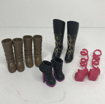Mattel Monster High Ever After Doll Replacement Shoes & Boots 5 Pairs + ... - $10.84