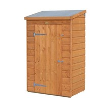 Storage Shed Wooden Small Spacious Adjustable Shelf Lockable Unit Garden... - $282.13