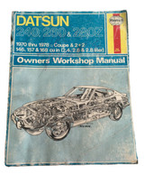 Haynes Datsun 240 260 280Z 1970-1978 Coupe & 2+2 Workshop Manual - $20.75