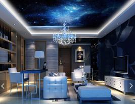 3D Blau, Sterne 566767 Fototapeten Wandbild Fototapete BildTapete FamilieDE - $52.13+