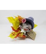 """1994 10"""" Annalee Pilgrim Boy Mouse in a Cornucopia in Box - $32.99"""