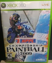NPPL Championship Paintball 2009 Microsoft Xbox 360 2008 - $5.91