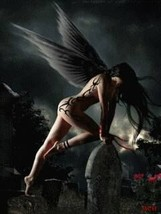 Haunted Dark Angel Sexual Heiress Powers of the djinn wish granting erotic - $166.66