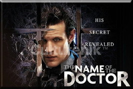 Doctor Who The Name of the Doctor Episode 2 x 3 Refrigerator Magnet NEW ... - $3.95