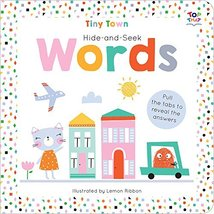 Tiny Town Hide and Seek Words (Tiny Town Hide and Seek Board Books) [Boa... - $1.88