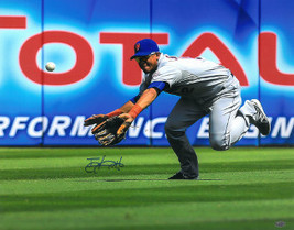 Juan Lagares signed New York Mets 16x20 Photo (diving catch) - $33.95