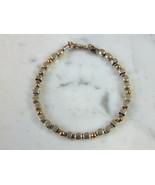 Womens Vintage Estate Sterling Silver Bracelet 9.7g E5010 - $54.45