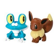Pokémon Battle Action Figure - Froakie vs Eevee - $24.74