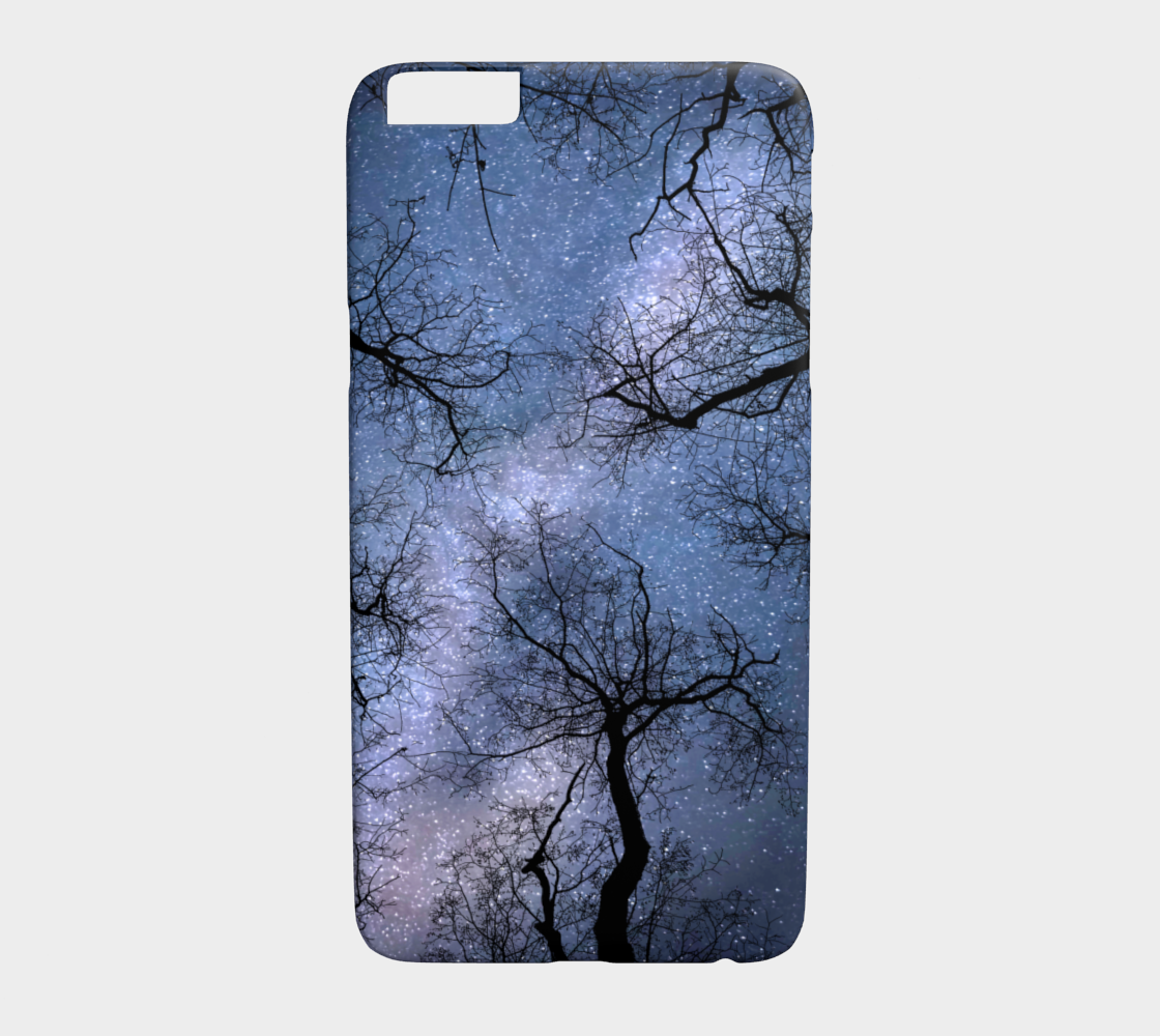Phone Case Cell cover for Iphone Samsung Galaxy Design 85 blue sky L.Dumas