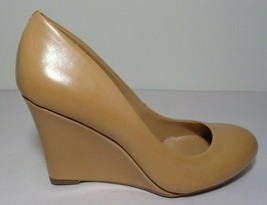 Jessica Simpson Size 7 M CASH Tan Wedge Heels Pumps New Womens Shoes - $98.01