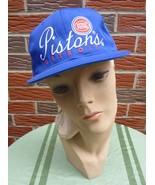 Vintage 1990s Detroit Pistons Hat Adjustable Unisex New NBA Licensed - $22.75