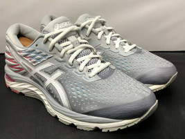 ASICS Running Fitness Gym Shoe Gel Cumulus 21 Pink Gray 1012A468 Womens ... - $44.10