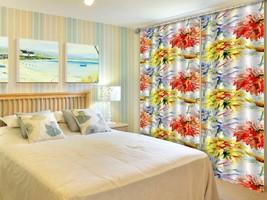 3D Multicolor Peony 225 Blockout Photo Curtain Print Curtains Drapes US Lemon - $177.64+