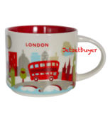 New Starbucks London You are Here Mug Coffee Cup Big Ben Gherkin St Paul... - $79.19