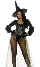 Forplay Westside Bruja Malvada Mono Sexy Adulto Mujer Disfraz Halloween ... - $68.13