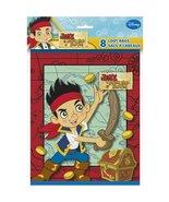 Disney Jake and The Never Land Pirates Loop Bag, 8 per Bag - $9.79