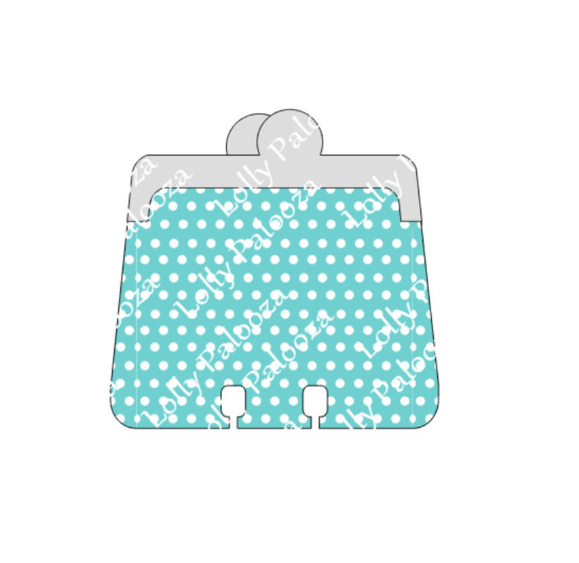 Coin Purse Dex Card / Greeting Card DIGITAL Files.  Instant Download.  PNG & SVG