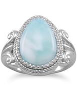 Pear Shape Larimar Ring - $62.87+