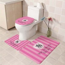 Hot Victoria's_Secret252 Toilet Set Anti Slip Good For Decoration Your Bathroom  - $20.09