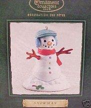 Hallmark Snowman Collector's Club 2002 ornament - $8.87