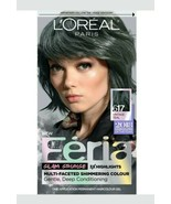 Loreal Feria Shimmering Hair Colour 617 VINTAGE TEAL Teal #617  lot x 3 - $38.56