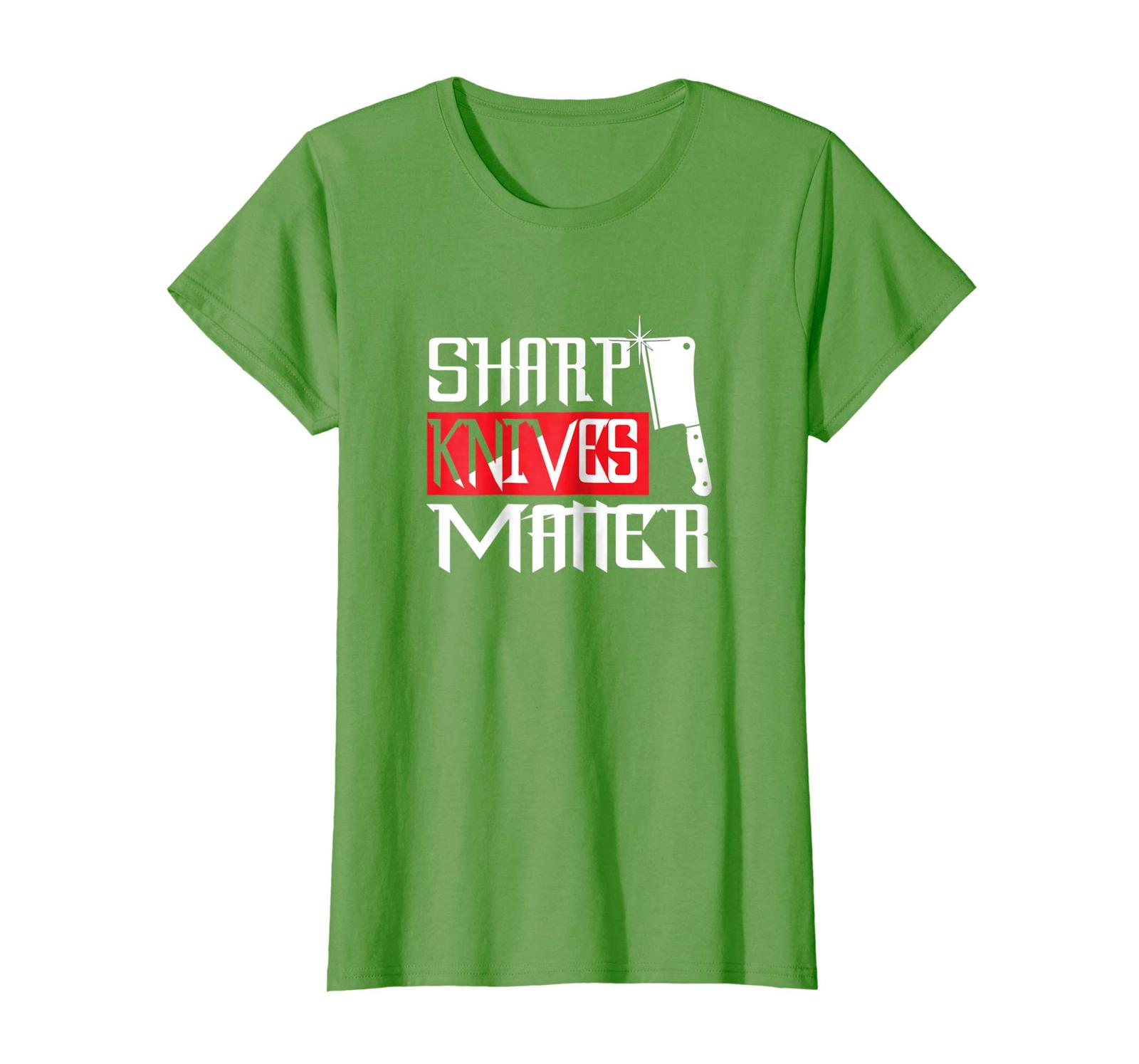 Brother Shirts - Sharp Knives Matter Funny Culinary Chef Gift T-Shirt Wowen