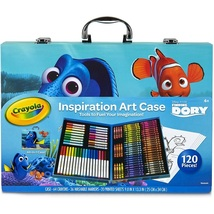 Inspiration Art Case - Finding Dory - Contains 120 pieces! By Crayola - $49.95