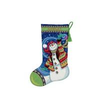 Crafts Point, Happy Snowman Stocking - $41.99