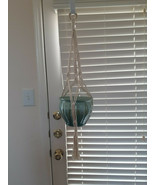 Macrame Plant Hanger Retro Hanging Plant Holder, Indoor and Outdoor Air ... - $17.82