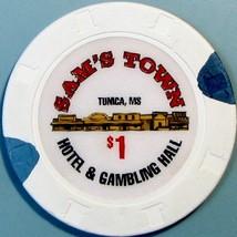 $1 Casino Chip. Sam's Town, Tunica, MS. V76. - $4.29
