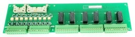 MGE UPS 6739836 D1 PC RELAY BOARD OBEZ ASSEMBLY 6739835XD-2-D image 1