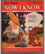 Walt Disney's Now I Know #31 1973-U.K-Sneezy-G - $37.83