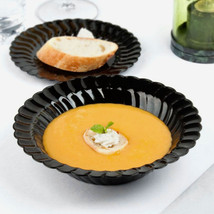 Plastic 12 Oz. Black Round Soup Bowl/Case of 180 - €73,90 EUR