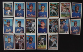 1989 Bowman New York Mets Team Set 19 Baseball Cards Missing 1 Card - $4.00