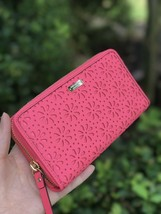 NWT KATE SPADE Supriseco Leather Cedar Street Floral Perforated Lacey Wa... - $99.99