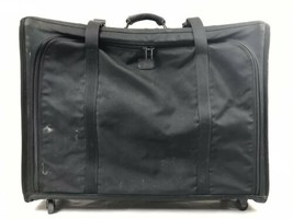 "Tumi 30"" Rolling Suitcase Black Ballistic Nylon Collapsible 4 Wheel Lugg... - $35.00"