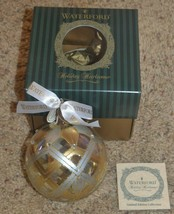 Waterford Ornament Holiday Heirlooms w/ Box - $56.09