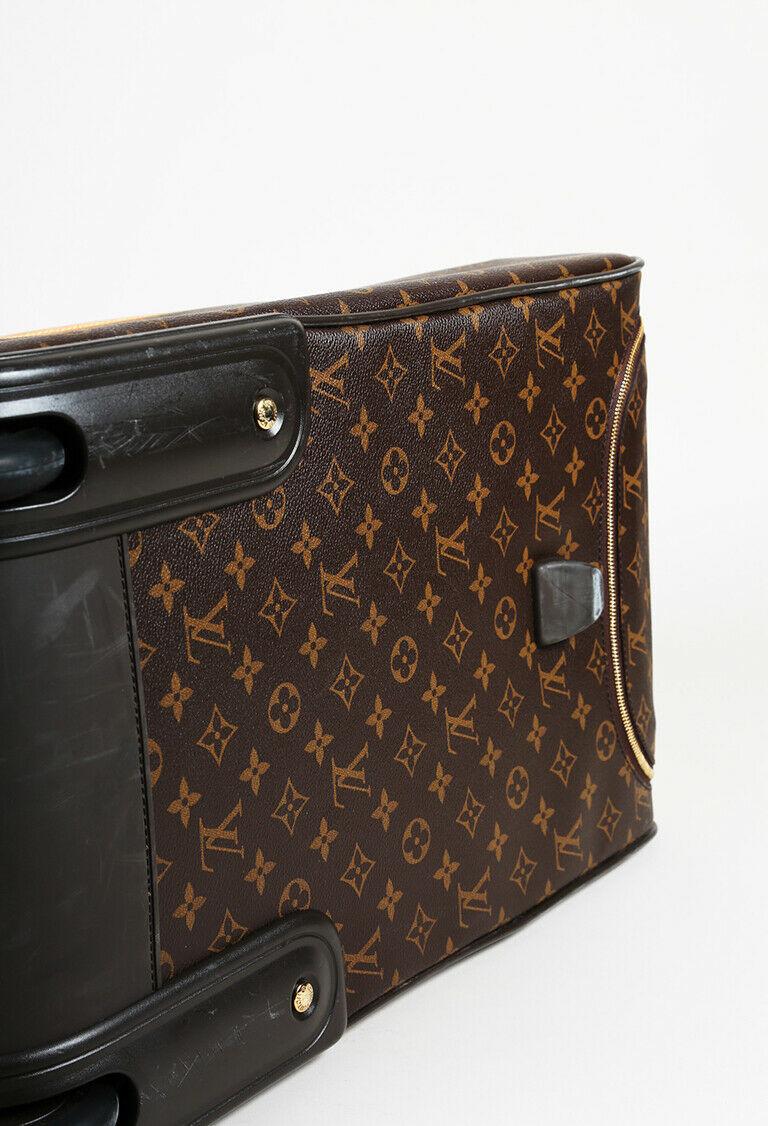 """Louis Vuitton Monogram Coated Canvas """"Eole 50"""" Suitcase"""