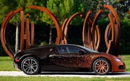 2017 Bugatti Veyron Grand Sport Bernar Venet 24X36 inch poster, sports car - $18.99