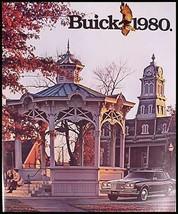 1980 Buick Dlx Color Brochure Regal Riviera LeSabre - $7.41