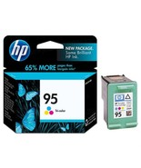 Hewlett Packard C8766WN (HP 95) Tri-Color Original Ink Cartridge in Reta... - $57.98