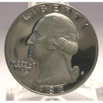 1982-S Proof DCAM Washington Quarter PF65 #608 - $1.99