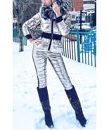 Ski Suit Jacket Pants Trousers Mens Womens Winter Snow Glanz Nylon Anzug Shine - $349.00