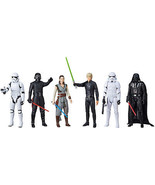 Star Wars 12 Epic Rivals Figurines 6-pack Darth Vader Luke Skywalker Kyl... - $58.99