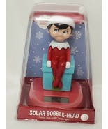 NEW SEALED OFFICIAL Elf on the Shelf Solar Bobble Head Figure - $14.89