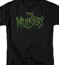 The Munsters logo t-shirt retro 60's comedy TV series graphic tee NBC767 image 3