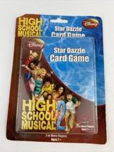 NEW DISNEY HIGH SCHOOL MUSICAL 2 STAR DAZZLE CARD GAME CARDINAL 2+ PLAYERS  - $7.91
