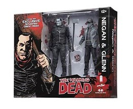 *NEW* NEGAN & GLENN The Walking Dead Action Figure Set Skybound Exclusive - $82.54