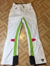 Killtec Boys White Pants Level 5 Waterproof Breargable Windproof White R... - $23.27